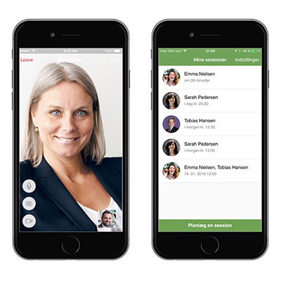 GoMentor app til online terapi