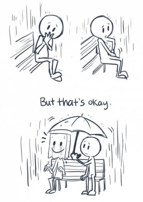 Det er greit å syntes det er tungt og å bryte sammen når du har depresjon