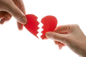 Skilsmisse og brud og separation