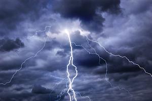 Frygt for tordenvejr tordenskræk