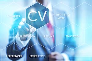 Writing a CV - curriculum vitae