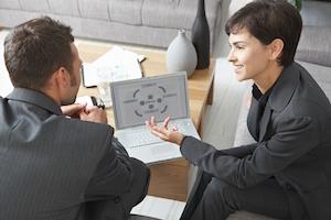 Klient får trænet sine salgsegenskaber og får teknikker og teori, som skal forbedre hans salg i forbindelse med salg via kold kanvas