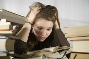 Skoleopgaver og eksamener